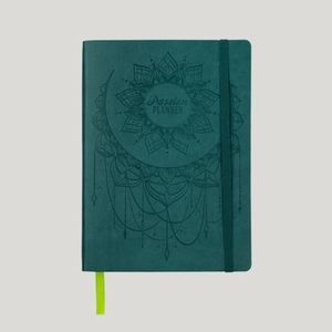 Brand new aqua blue medium Passion Planner